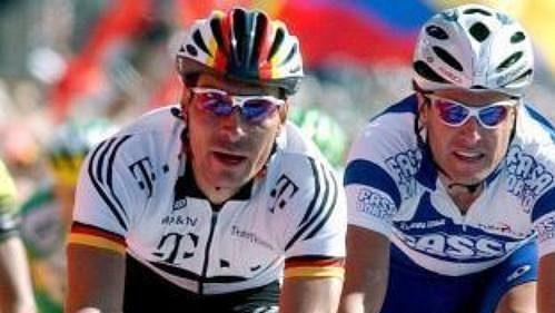 Erik Zabel (vlevo) bude nejzářivější hvězdou Závodu míru.