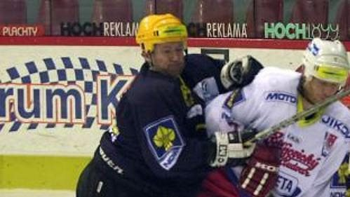 Hokejisté Budějovic prohráli vLitvínově a čeká je baráž