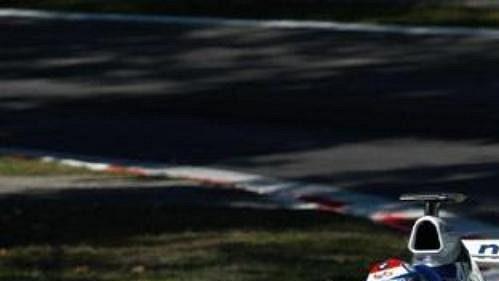 Marc Gené za volantem vozu Williams při Velké ceně Itálie.