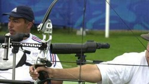 Na paralympiádě vSydney vystřílel Zdeněk Šebek zlato.