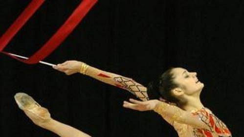Česká moderní gymnastika bude mít díky Dominice Červenkové zastoupení na OH v Aténách. (ilustrační foto)