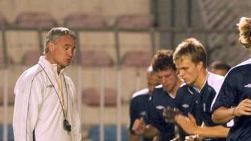 Fotbalisté Chelsea během tréninku na Letné