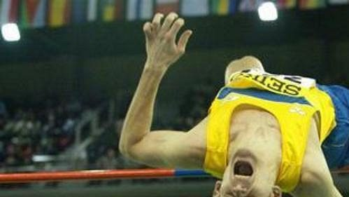 Švédský výškař Stefan Holm