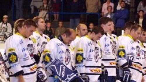 Hokejisté Liberce uctili smrt spoluhráče Pavla Kábrta minutou ticha