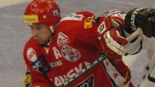 Hokejisté Liberce během čtvrtfinále s pražskou Slavií