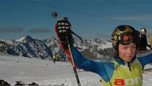 Česká lyžařka Lucie Hrstková - ilustrační foto