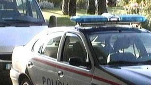 Vůz portugalské policie.