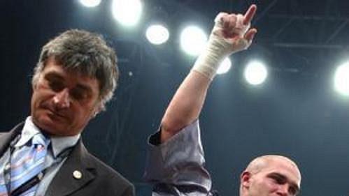 Český boxer Rudolf Kraj.
