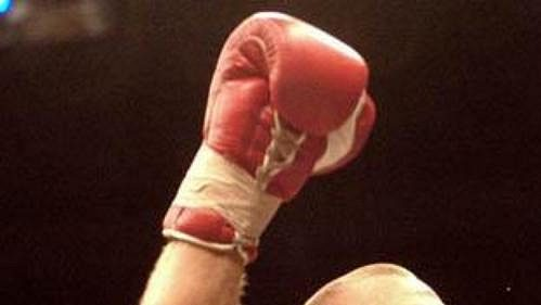 Český boxer Ladislav Kutil.