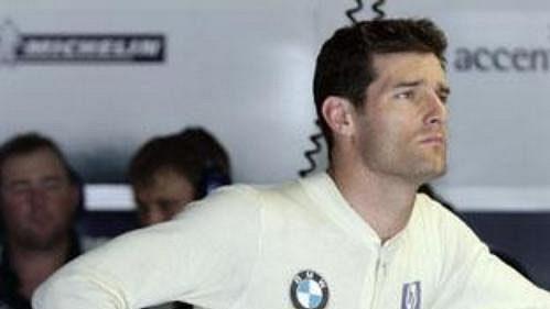 Pilot týmu formule 1 Williams Australan Mark Webber