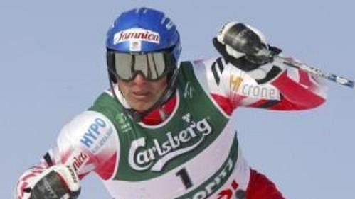 Chorvatský lyžař Ivica Kostelič