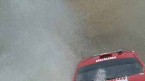 Marko Märtin speugeotem na trati Mexické rallye - ilustrační foto.