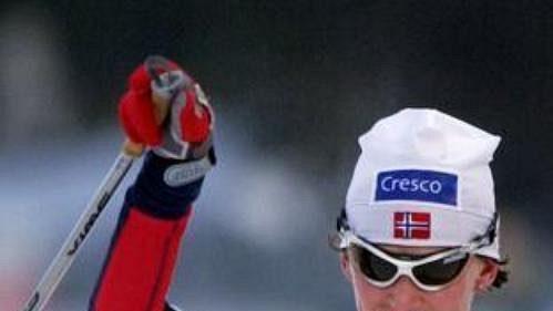 Norská suverénka vbílé stopě Bente Skariová