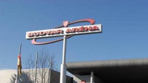 Budvar Arena v Českých Budějovicích
