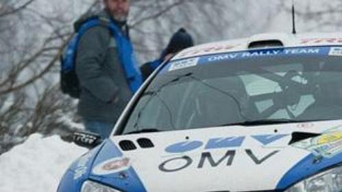 Tomáš Vojtěch s Peugeotem 206 WRC při 39. ročníku Rallye Šumava.