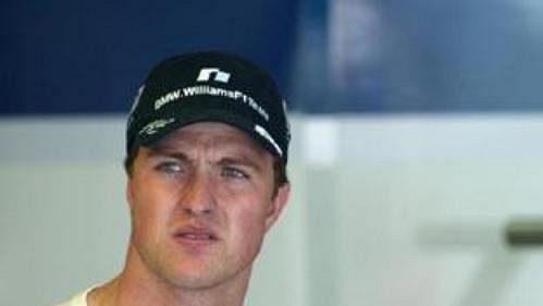 Ralf Schumacher (vlevo) stechnickým ředitelem stáje Williams Patrickem Headem.