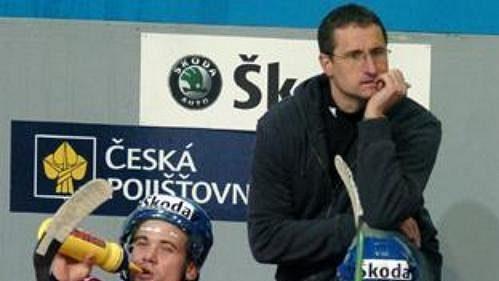 Čeští hokejisté do 20 let během přípravy na MS ve Švédsku.