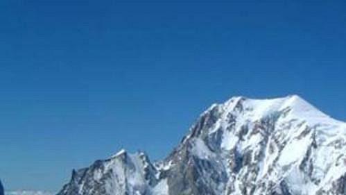 Mont Blanc, 4810 m.