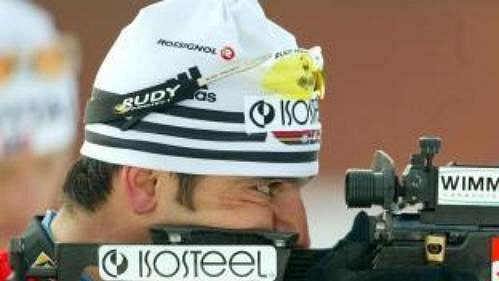 Německý biatlonista Ricco Gross.