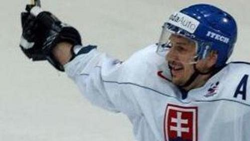Slovenský hokejista Peter Bondra