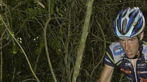 Biker Milan Spěšný při závodu SP horských kol v Brazílii.