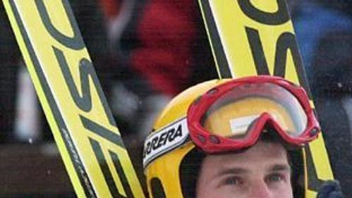 Současný nejlepší český skokan na lyžích Jakub Janda.