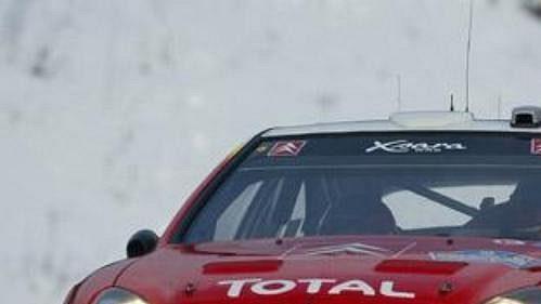 Sébastien Loeb se po druhé etapě ujal vedení ve Švédské rallye.