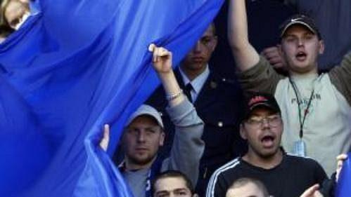 Fanoušci Baníku působili jako roznětka skvělé fotbalové show na Letné.