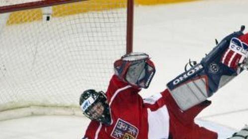 Čeští hokejisté do 20 let se připravují na vstup do šampionátu