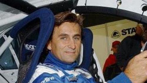 Italský jezdec Alessandro Zanardi.