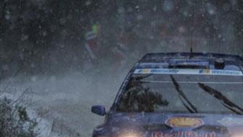 Mathias Ekström se představil svozem Škoda Fabia WRC při Švédské rallye.
