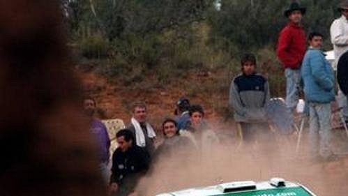 Jezdec týmu Škoda Motorsport Toni Gardemeister na trati Rally Argentina.