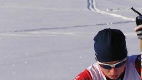 Běžkyně na lyžích Eliška Hájková