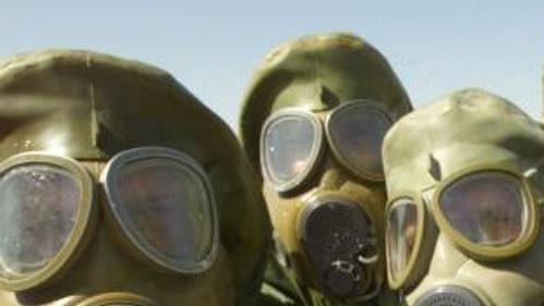 Američtí sportovci povezou do Atén plynové masky. (ilustrační foto)