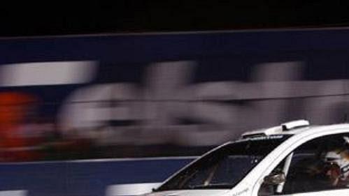 Fin Toni Gardemeister s fabií při úvodní supererzetě na Australské rallye.