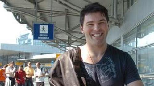 Jaromír Jágr při odletu z letiště v Praze-Ruzyni