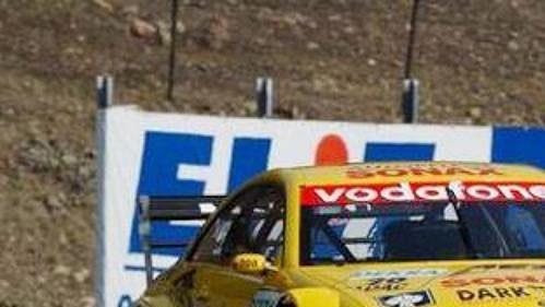 Jaroslav Janiš za volantem AMG Mercedes CLK.