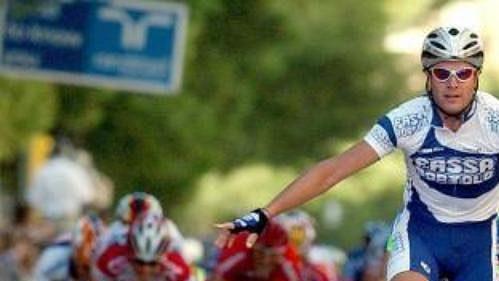 Ital Alessandro Petacchi dojíždí nikým neatakován do cíle páté etapy cyklistické Vuelty.