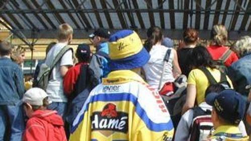 Fanoušci uzavřeli letošní sezónu spolu shokejisty Hamé na zlínském Náměstí Míru.