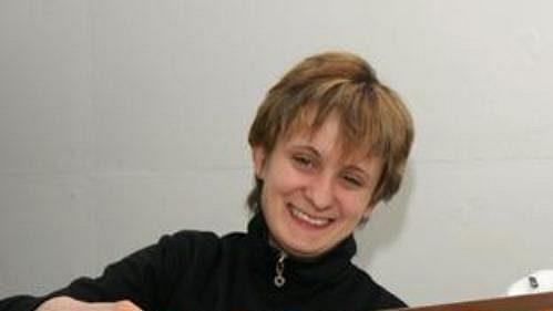 Rychlobruslařky Martina Sáblíková (vlevo) a Kateřina Novotná.