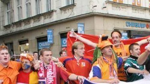 Nizozemci si sčeskými fanoušky rozuměli.