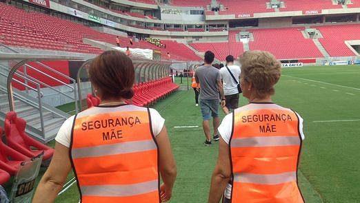 'Matky pořadatelky' se v Brazílii chystaly na zápas.