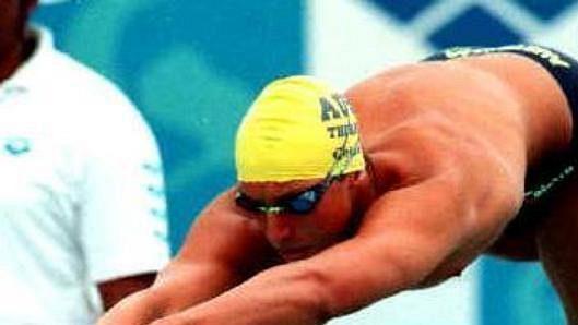 Australský plavec Ian Thorpe - ilustrační foto