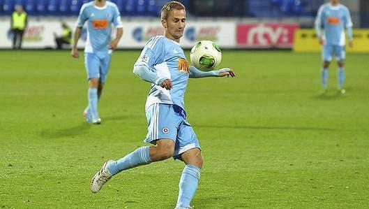 Erik Grendel, záložník Slovanu Bratislava.