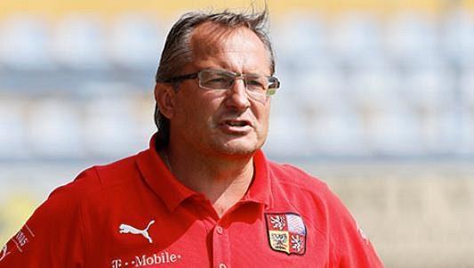 Trenér Václav Černý.