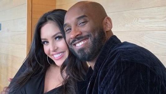 Kobe Bryant s manželkou Vanessou.