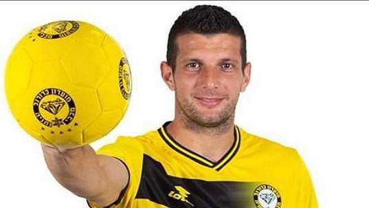 Černohorský fotbalista Fatos Beqiraj.