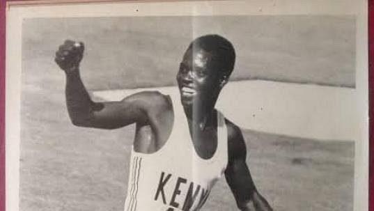 Keňský běžec Ben Jipcho.