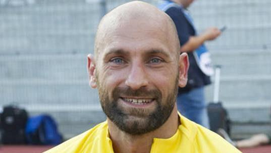 Náhradní brankář Interu Milán Tommaso Berni.
