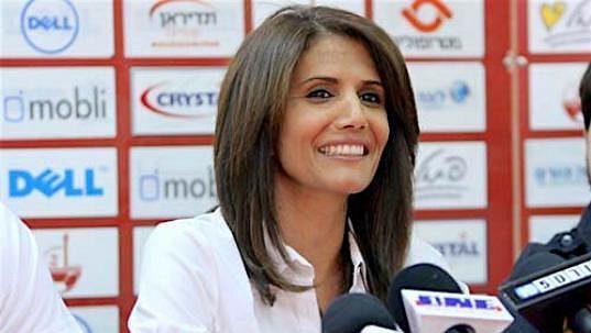 Majitelka týmu Beer Ševa Alona Barkatová.